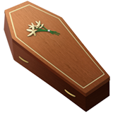 Coffin ios/apple emoji