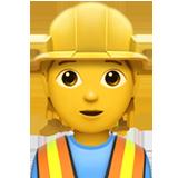 Construction Worker ios/apple emoji