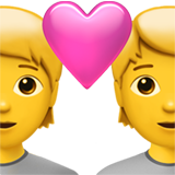 Couple With Heart ios emoji