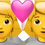 Couple With Heart ios/apple emoji