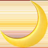 Crescent Moon ios emoji