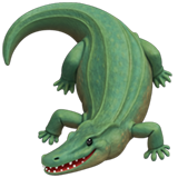 Crocodile ios emoji
