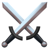 Crossed Swords ios emoji