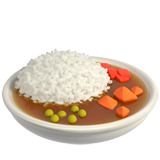 Curry And Rice ios/apple emoji
