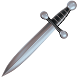 Dagger Knife ios/apple emoji
