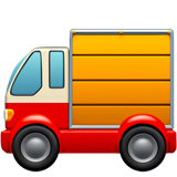 Delivery Truck ios/apple emoji