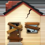 Derelict House Building ios emoji