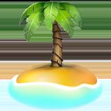 Desert Island ios/apple emoji