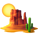 Desert ios/apple emoji