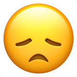 Disappointed Face ios emoji