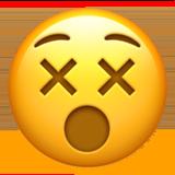 Dizzy Face ios/apple emoji