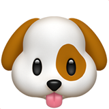 Dog Face ios/apple emoji