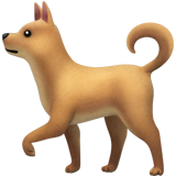 Dog ios/apple emoji