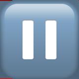 Double Vertical Bar ios emoji