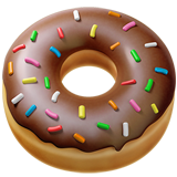 Doughnut ios/apple emoji