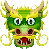 Dragon Face ios/apple emoji