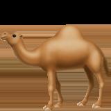 Dromedary Camel ios/apple emoji