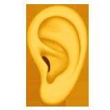 Ear ios emoji