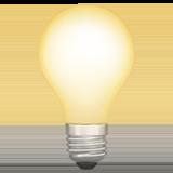 Electric Light Bulb ios emoji