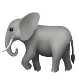 Elephant ios/apple emoji