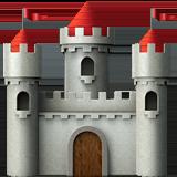 European Castle ios/apple emoji