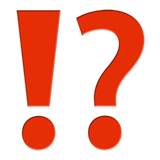 Exclamation Question Mark ios/apple emoji