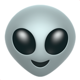 Extraterrestrial Alien ios/apple emoji