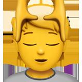 Face Massage ios/apple emoji