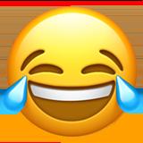 Face With Tears Of Joy ios emoji