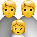 Family ios/apple emoji