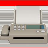Fax Machine ios/apple emoji