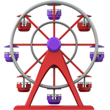 Ferris Wheel ios emoji