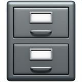 File Cabinet ios/apple emoji