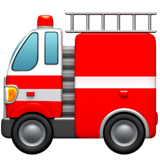 Fire Engine ios/apple emoji