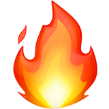 Fire ios/apple emoji