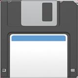 Floppy Disk ios emoji