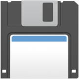 Floppy Disk ios/apple emoji