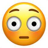 Flushed Face ios emoji