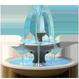 Fountain ios/apple emoji