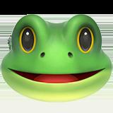 Frog Face ios emoji