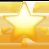 Glowing Star ios emoji