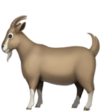 Goat ios/apple emoji