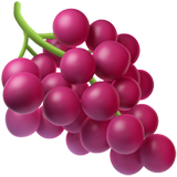 Grapes ios/apple emoji