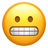 Grimacing Face ios/apple emoji