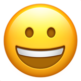 Grinning Face ios/apple emoji