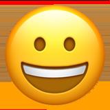 Grinning Face ios/apple emoji