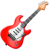 Guitar ios/apple emoji