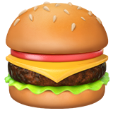 Hamburger ios/apple emoji