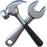 Hammer And Wrench ios emoji