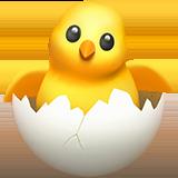 Hatching Chick ios emoji